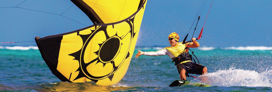 pratique du kitesurf